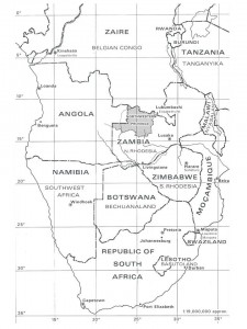 southern africa map 0314